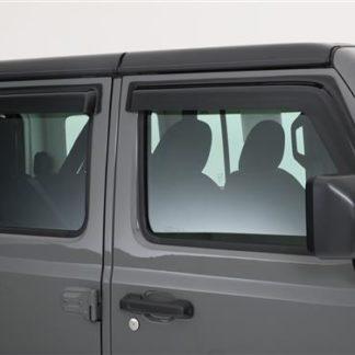 GT Styling Rainguard; Carbon Fiber Look; Set Of 4  | 2018 Jeep Wrangler JL | 2019 Jeep Wrangler