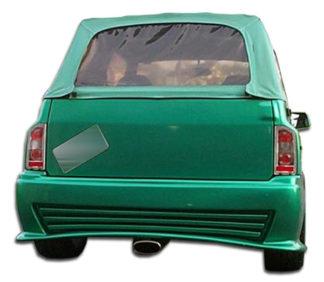 1989-1995 Geo Tracker Suzuki Sidekick 2DR Duraflex Stalker Rear Bumper Cover - 1 Piece (Overstock)