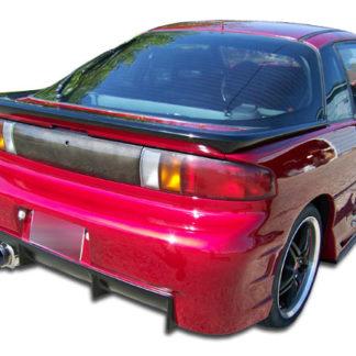 1990-1993 Geo Storm Duraflex Terminator Rear Bumper Cover - 1 Piece (Overstock)