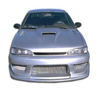 1993-1997 Geo Prizm Duraflex Drifter Front Bumper Cover - 1 Piece (Overstock)