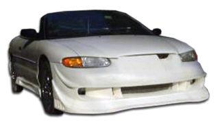 1996-2000 Chrysler Sebring Convertible Duraflex Vader Front Bumper Cover - 1 Piece (Overstock)