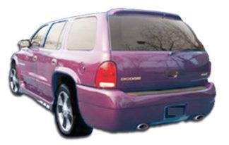 1998-2003 Dodge Durango Duraflex Platinum Rear Bumper Cover - 1 Piece