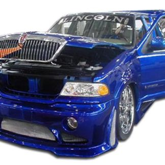 1998-2002 Lincoln Navigator Duraflex Platinum Front Bumper Cover - 1 Piece