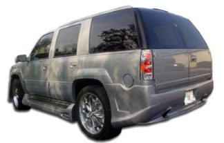 1999-2001 Cadillac Escalade 1999-2000 GMC Denali Duraflex Platinum Rear Bumper Cover - 1 Piece (Overstock)