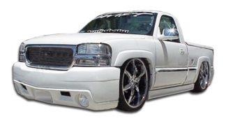 1999-2005 GMC Sierra 2000-2006 Yukon Duraflex VIP Front Bumper Cover - 1 Piece