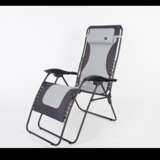 Faulkner Chair; Laguna; Recliner; 36 Inch Height (Gray Black)