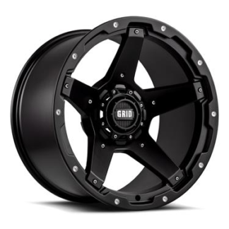Grid Off-Road Wheel Model GD04 Black