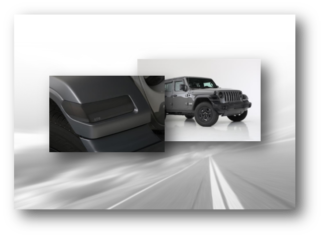 GT Styling Covers - Jeep Wrangler - JK
