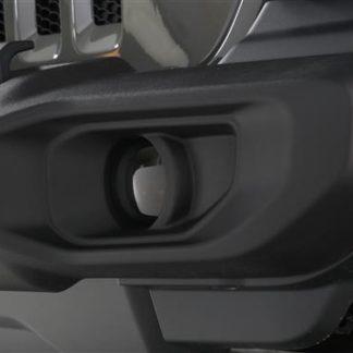 GT Styling Driving/ Fog Light Cover; Carbon Fiber Look; Set Of 2  | 2018 Jeep Wrangler JL | 2019 Jeep Wrangler