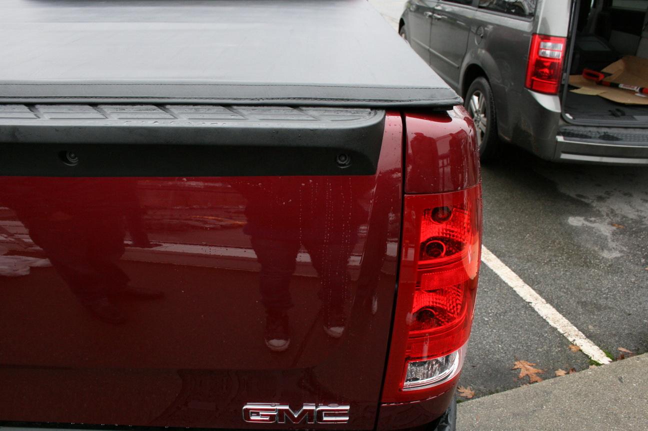 Tonneau Cover Soft Trifold 2009 2017 Dodge Ram 1500 Std Quad Cab 6 5 Ft Bed Fleetside Premium Leather Vinyl Black