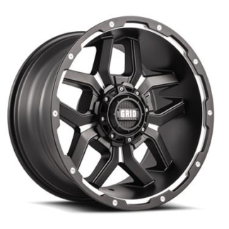Grid Off-Road Wheel Model GD07 Gloss Black