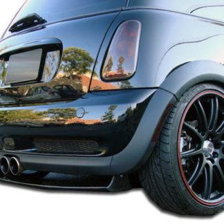 2002-2006 Mini Cooper S Duraflex Type H Rear Diffuser - 1 Piece (Overstock)