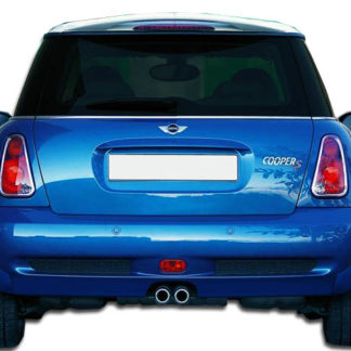 2002-2006 Mini Cooper S Duraflex Type H Rear Lip Under Spoiler Air Dam - 1 Piece (Overstock)
