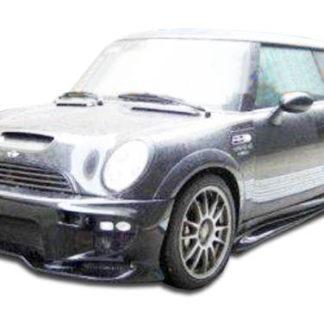 2002-2006 Mini Cooper Duraflex Vader Front Bumper Cover - 1 Piece