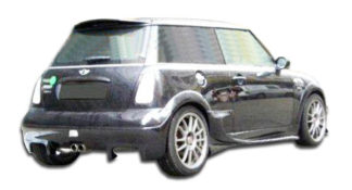 2002-2006 Mini Cooper Duraflex Vader Rear Bumper Cover - 1 Piece