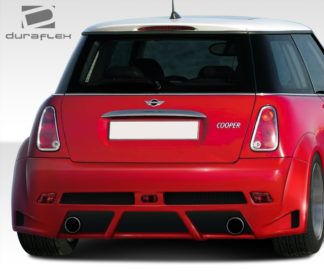 2002-2006 Mini Cooper Duraflex Type Z Wide Body Rear Bumper Cover - 1 Piece