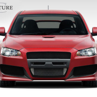 2008-2015 Mitsubishi Lancer Evolution 10 Couture Urethane C-Speed Front Bumper Cover - 1 Piece (Overstock)