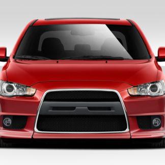 2008-2017 Mitsubishi Lancer Duraflex Evo X V2 Front Bumper Cover - 1 Piece