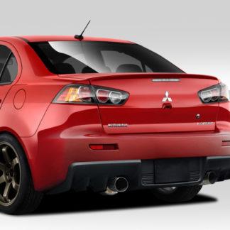 2008-2017 Mitsubishi Lancer Duraflex Evo X V2 Rear Bumper Cover - 1 Piece
