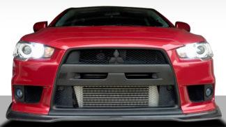 2008-2015 Mitsubishi Lancer Evolution 10 Duraflex JDP Style Front Lip - 1 Piece