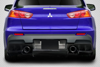 2008-2015 Mitsubishi Lancer Evolution 10 Carbon Creations VR-S Rear Diffuser - 1 Piece
