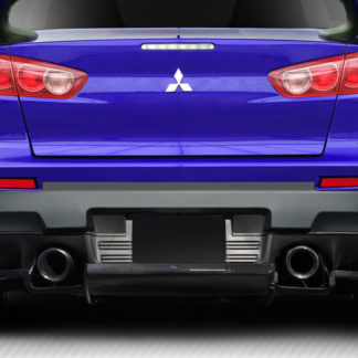 2008-2015 Mitsubishi Lancer Evolution 10 Carbon Creations VR-S Rear Diffuser - 1 Piece