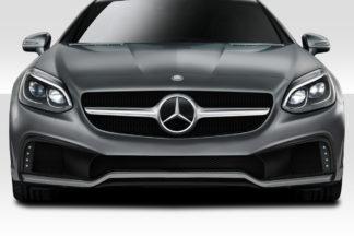 2012-2016 Mercedes SLK Class R172 Duraflex W-1 Front Bumper and Front Bumper Accessories- 2 Piece