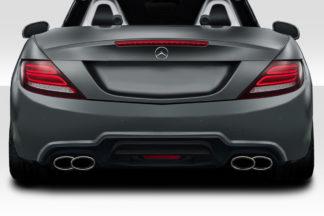 2012-2016 Mercedes SLK Class R172 Duraflex W-1 Rear Bumper - 1 Piece