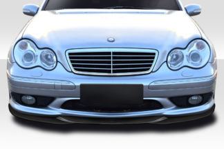 2001-2007 Mercedes C Class W203 Duraflex L Sport Front Lip Spoiler - 1 Piece ( For AMG Bumper only)