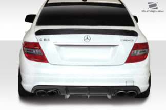 2008-2011 Mercedes C Class / C63 W204 Duraflex Super Fin Rear Diffuser - 1 Piece ( fits AMG Bumper only )