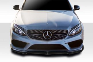 2015-2018 Mercedes C Class W205 Duraflex Fortune Front Lip - 1 Piece ( For AMG Bumper only)