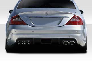 2006-2011 Mercedes CLS Class C219 W219 Duraflex L Sport Rear Diffuser - 1 Piece ( For AMG Bumper only)