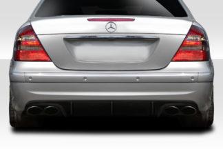 2003-2006 Mercedes E55 W211 Duraflex L Sport Rear Diffuser - 1 Piece