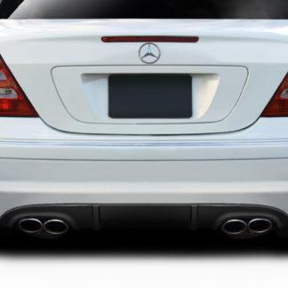 2001-2007 Mercedes C Class W203 Duraflex L-Sport Rear Diffuser ( For AMG Rear Bumper only) - 1 Piece