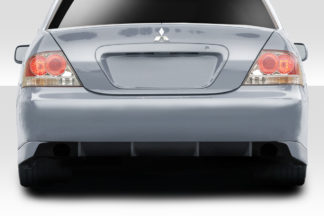 2004-2007 Mitsubishi Lancer Duraflex Trackstar Rear Bumper - 1 Piece