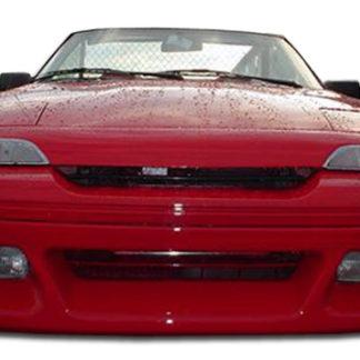 1991-1994 Mercury Capri Duraflex Racer Front Lip Under Spoiler Air Dam - 1 Piece (Overstock)
