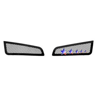 Black - 1.8mm Wire Mesh Grille - 2013-2014 Cadillac ATS