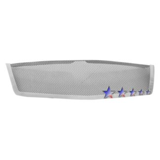 Black - 1.8mm Wire Mesh Grille - 2007-2014 Cadillac Escalade Not Fit Platinum And Hybrid Models