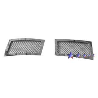 Black - 1.8mm Wire Mesh Grille - 2007-2014 Cadillac Escalade Not Fit ESV Platinum And Hybrid Models Without Tow hook