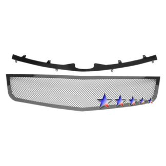 Black - 1.8mm Wire Mesh Grille - 2006-2011 Cadillac DTS