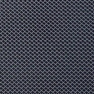 "Black - 1.8mm Wire Mesh Grille - Universal Stainless Steel 1.8mm Wire Mesh 12""x48"" 1 PC/ Set"