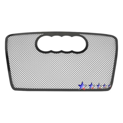 Black - 1.8mm Wire Mesh Grille - 2006-2007 Audi A4 Not For S-Line/B7/Cabriolet