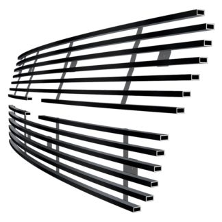 Black - Horizontal Billet Grille - 2002-2006 Chevy Avalanche Without Body Cladding/2003-2005 Chevy Silverado 1500 /2003-2005 Chevy Silverado 1500 SS /2003-2004 Chevy Silverado 2500 /2003-2004 Chevy Silverado 3500 /2003-2005 Chevy Silverado 1500 HD /2003-2004 Chevy Silverado 2500 HD /2002-2006 Chevy Avalanche 2500 Without Body Cladding