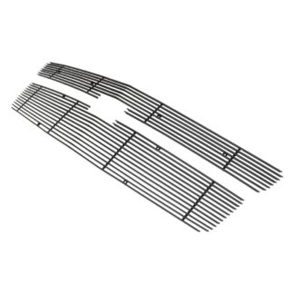 Black - Horizontal Billet Grille - 2015-2019 Chevy Suburban (For Both Honeycomb Style and Bar Style)/2015-2019 Chevy Tahoe (For Both Honeycomb Style and Bar Style)