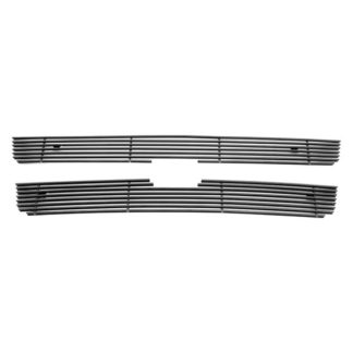Black - Horizontal Billet Grille - 2006-2009 Chevy Trailblazer LT Not For LS/SS/2006-2008 Chevy Trailblazer LT 8Cyl Not For LS/SS