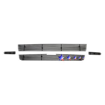 Black - Horizontal Billet Grille - 2006-2009 Chevy Trailblazer SS