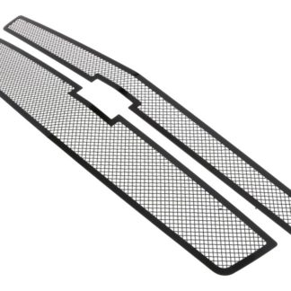 Black - 1.8mm Wire Mesh Grille - 2015-2019 Chevy Suburban (For Both Honeycomb Style and Bar Style)/2015-2019 Chevy Tahoe (For Both Honeycomb Style and Bar Style)