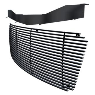 Black - Horizontal Billet Grille - 2007-2013 Chevy Avalanche /2007-2014 Chevy Suburban /2007-2014 Chevy Tahoe Not For Hybrid