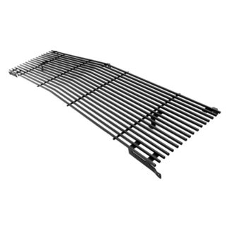 Black - Horizontal Billet Grille - 1981-1988 GMC Suburban (With Stacked Lights)/1981-1988 Chevy Blazer (With Stacked Lights)/1981-1987 Chevy C/K Pickup (With Stacked Lights)/1981-1988 Chevy Suburban (With Stacked Lights)/1981-1987 GMC C/K Pickup (With Stacked Lights)/1981-1988 GMC Jimmy (With Stacked Lights)