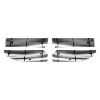 Black - Horizontal Billet Grille - 2006-2012 Dodge Caliber